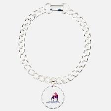 Cute Hiking dog Bracelet