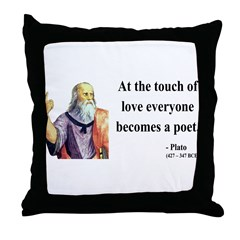 Plato 10 Throw Pillow