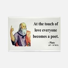 Plato 10 Rectangle Magnet