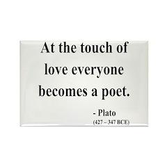 Plato 10 Rectangle Magnet (100 pack)