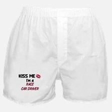 Kiss Me I'm a RACE CAR DRIVER Boxer Shorts