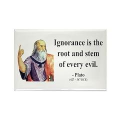 Plato 11 Rectangle Magnet