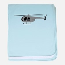 Helicopter baby blanket