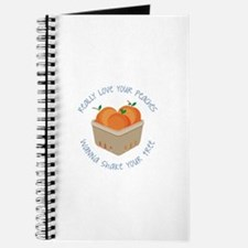 Love Peaches Journal