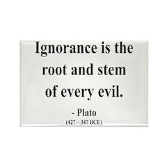 Plato 11 Rectangle Magnet (100 pack)