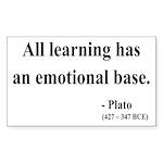 Plato 12 Rectangle Sticker