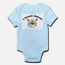 I Found Jesus! Infant Creeper