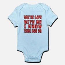 I Know Tang Soo do Infant Bodysuit