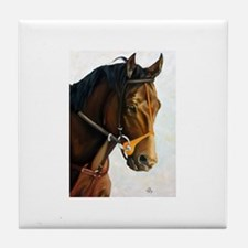 Seattle Slew Tile Coaster