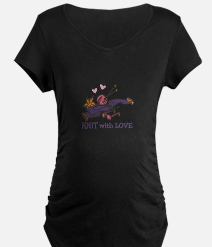 Knit With Love Maternity T-Shirt