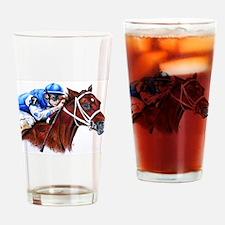 Smarty Jones Drinking Glass