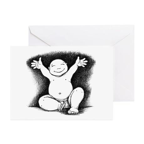 Buddha Baby Greeting Cards (Pk of 10)