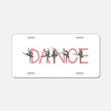 Ballet Dancer Aluminum License Plate