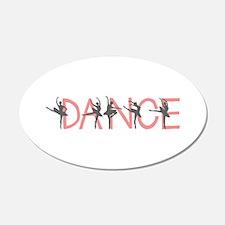 Ballet Dancer Wall Decal