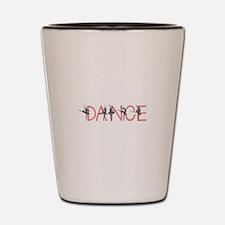 Ballet Dancer Shot Glass
