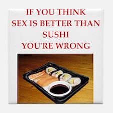 food joke Tile Coaster
