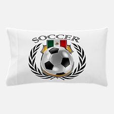 Mexico Soccer Fan Pillow Case