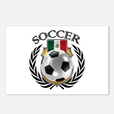 Mexico Soccer Fan Postcards (Package of 8)