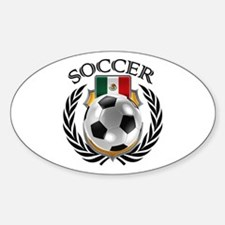 Mexico Soccer Fan Decal