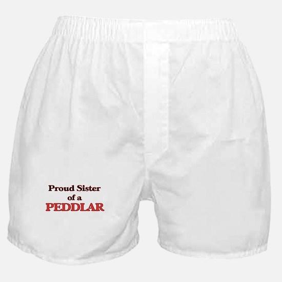 Proud Sister of a Peddlar Boxer Shorts