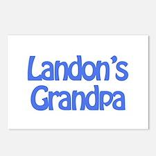 Landon's Grandpa Postcards (Package of 8)