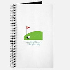 Daddy Golfing Journal