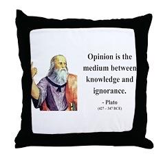 Plato 13 Throw Pillow
