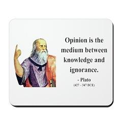Plato 13 Mousepad