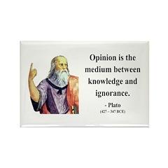 Plato 13 Rectangle Magnet (100 pack)