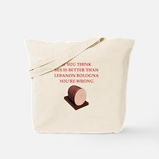 lebanon bologna Tote Bag