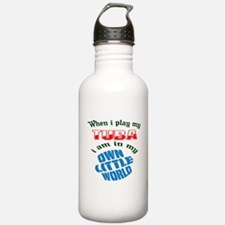 When i play my Tuba I' Water Bottle