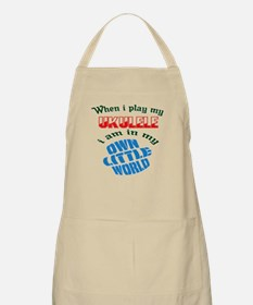 When i play my Tuba I'm in my own little wor Apron