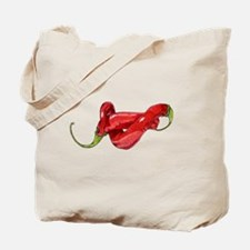Twisted Chilies Tote Bag