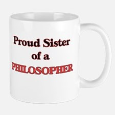 Proud Sister of a Philosopher Mugs