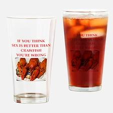 crawfish Drinking Glass