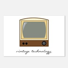 Vintage Technology Postcards (Package of 8)