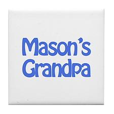 Mason's Grandpa Tile Coaster