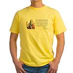 Plato 14 Yellow T-Shirt