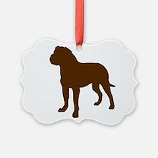 Rottweiler Brown 2 Ornament