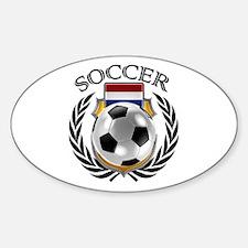 Netherlands Soccer Fan Decal