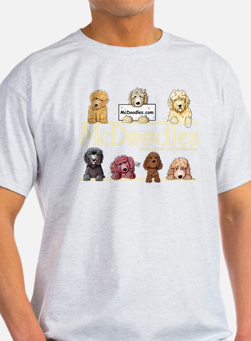 Cute Doodle dogs T-Shirt