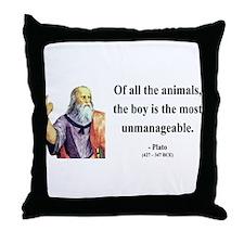 Plato 15 Throw Pillow