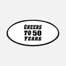 Cheers To 50 Patch