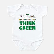 New Year's Resolution Infant Bodysuit