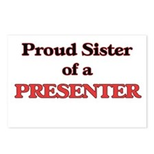 Proud Sister of a Present Postcards (Package of 8)
