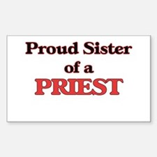 Proud Sister of a Priest Decal