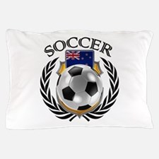 New Zealand Soccer Fan Pillow Case