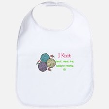 I Knit Bib