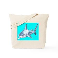 Funny Shark beach Tote Bag
