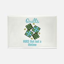 Quilts Last A Lifetime Magnets